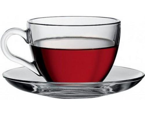 Сервиз чайный Pasabahce Бейсик 200 мл, 12 предметов 97948 - РМ