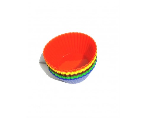 Форма силиконовая для кексов круглая  1034 Ytech 12 штук