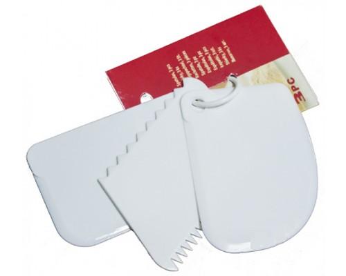 Набор кондитерских шпателей скребков Ytech 3 шт 1022 PM