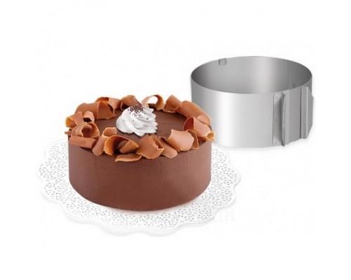 Разъемная кондитерская форма-кольцо 10 см от 16 см до 30 см Ytech