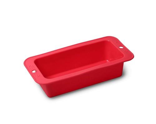 Форма силиконовая для выпекания хлеба прямоугольная d- 27.2 х 12.7 х 6.4 см Kamille КМ-7750