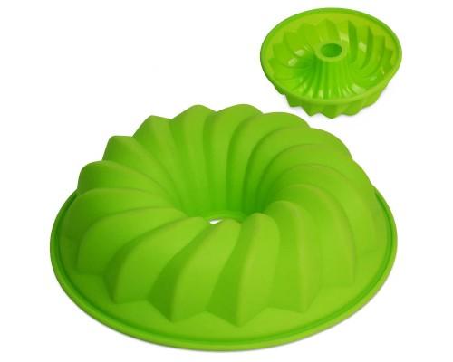 Форма силиконовая для выпечки кекса d-25,5 х 6,5 см Kamille КМ-7700 PM