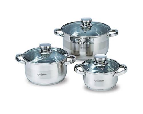 Набор посуды Maestro из нержавеющей стали 6 предметов MR-2220-6 PM