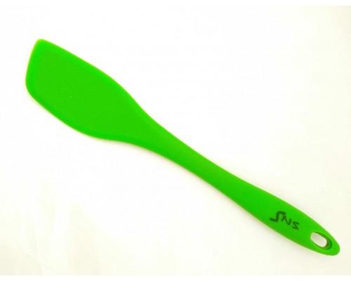 Лопатка силиконовая SNS 31 x 6 см зеленая 643-HH PM