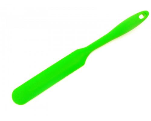 Силиконовый шпатель кондитерский SNS 33 х 3,5 см зеленый PM
