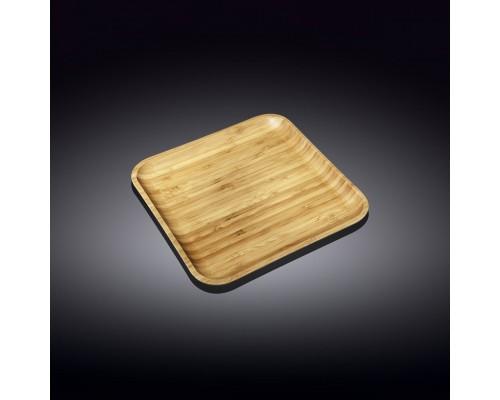 Блюдо Wilmax Bamboo квадратное 24 х 24 см 771024 WL PM