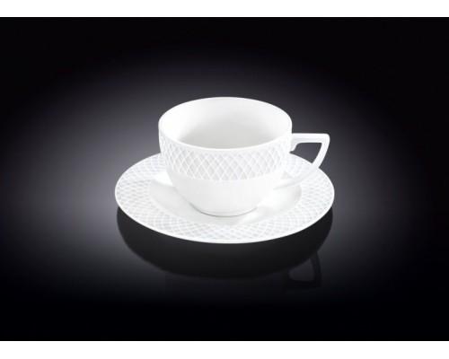 Чашка чайная WILMAX Julia Vysotskaya 240 мл с блюдцем 880105-1 WL PM
