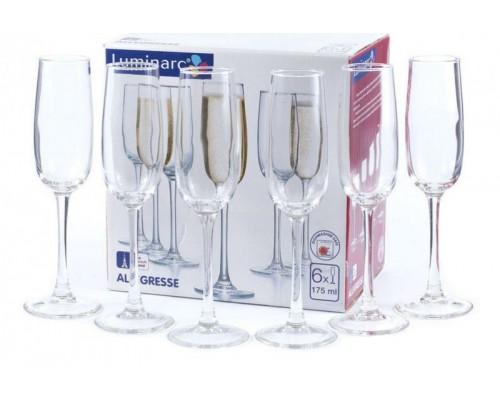 Набор бокалов Luminarc Allegresse 175 мл для шампанского 6 шт 8162 LUM PM