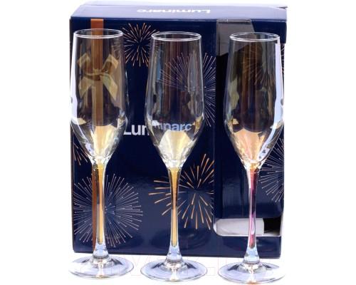 Набор бокалов Luminarc Celect Gold Chameleon 160 мл для шампанского 6 шт 1636/1P LUM PM
