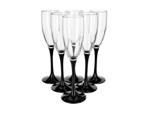 Набор бокалов Luminarc Domino 170 мл для шампанского 6 шт 8167 LUM PM