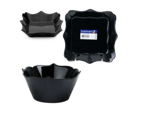 Сервиз столовый Luminarc Authentic Black 19 предметов 6196 LUM PM