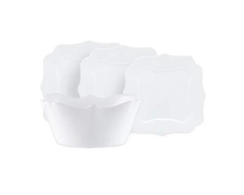 Сервиз столовый Luminarc Authentic White 19 предметов 6197 LUM PM