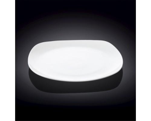 Тарелка WILMAX обеденная квадратная 24,5 см 991002 / А WL