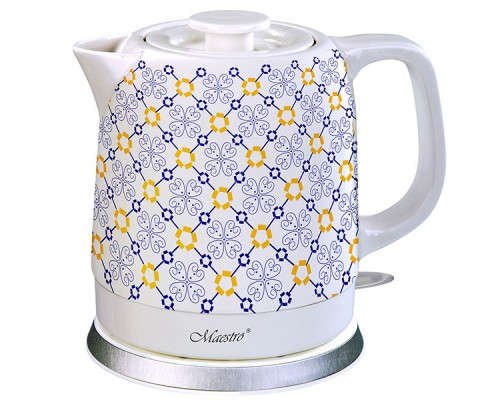 Чайник электрический керамический 1,5 литра Maestro MR-068