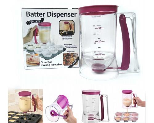 Диспенсер-дозатор для жидкого теста Batter Dispenser 900 мл Kitchen 4700 PM