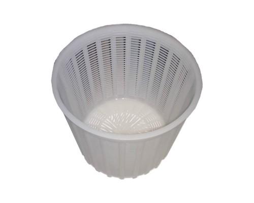 """Форма для сыра """"Круглая"""" d-17,5 х 14,5, h-15 см выход продукции до 2,8 кг. пластиковая Консенсус PM"""