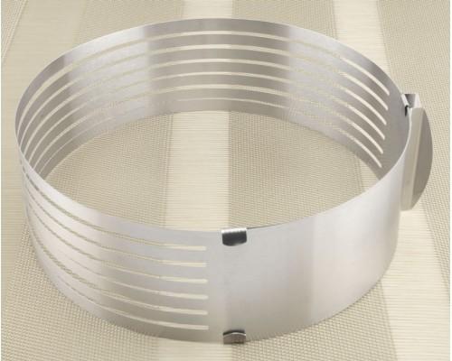 Форма кольцо слайсер разъёмное для нарезки коржей A-PLUS 912LC PM