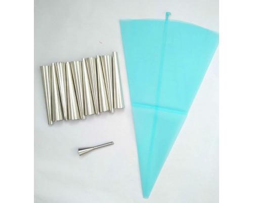Кондитерский набор для выпекания конусных трубочек PM