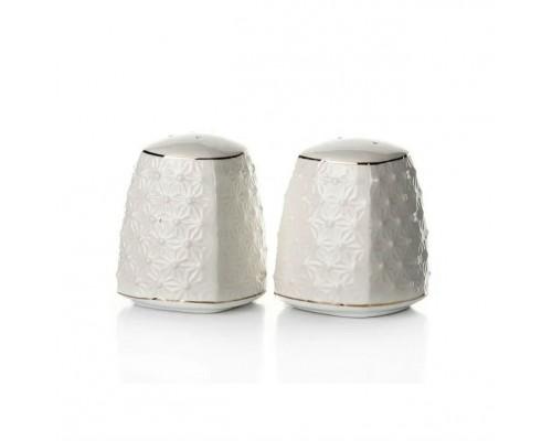 Набор для специй фарфоровый (соль, перец) Снежная Королева Interos 681507-A PM