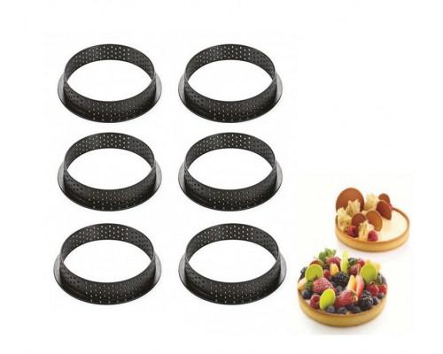 Перфорированное кольцо из термопластика Tarte ring round 80 х 20 мм SnS MM-920 PM