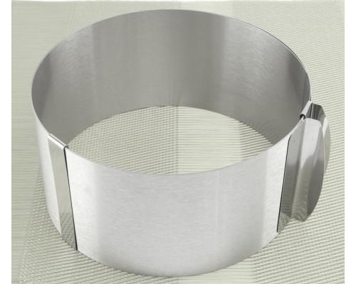 Разъемная кондитерская форма-кольцо 8 см от 16 см до 24 см A-PLUS 612LC PM