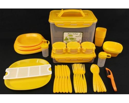 Столовый набор для пикника 46 предмета A-PLUS 106-65 PM