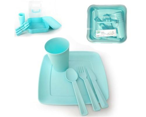 Столовый набор для пикника 32 предмета Hobby life 03-1289 PM