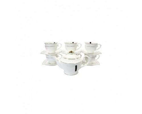 Чайный набор фарфоровый 13 предметов Interos PT0111-A PM