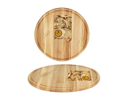 Доска для пиццы 27 х 1,5 см дерево S&T 8906-1 PM