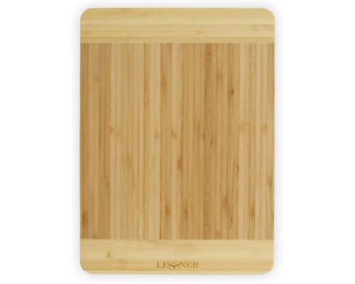 Доска кухонная бамбуковая прямоугольная 30 х 20 х 1,8 см Lessner 10300-30 PM