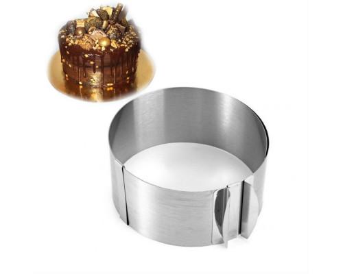 Форма-кольцо кондитерское разъемное 10 см от 16 см до 30 см Ytech PM