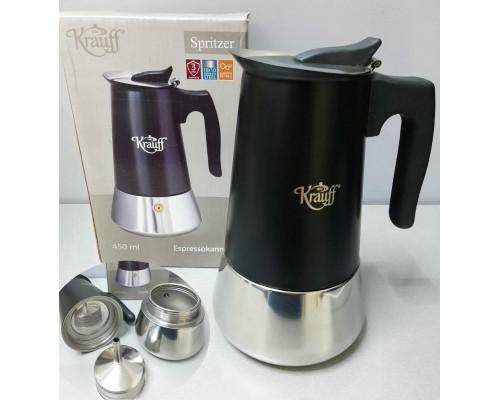 Гейзерная кофеварка Krauff 26-203-072 PM