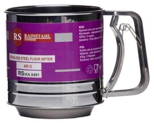 Кружка-сито 450 мл для просеивания муки RAINSTAHL RS-8491 PM
