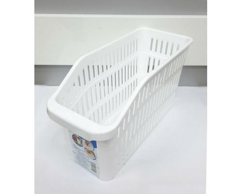 Лоток в холодильник 4,5 л  30 х 12,5 х 17см белый Полимербыт ПБ-805 PM