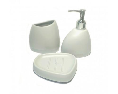 Набор аксессуаров для ванной комнаты 3 предмета Petra UP-544 PM