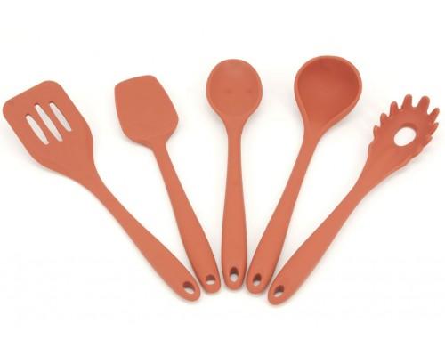 Набор кухонных принадлежностей 5 предметов Силикон A-PLUS 1922