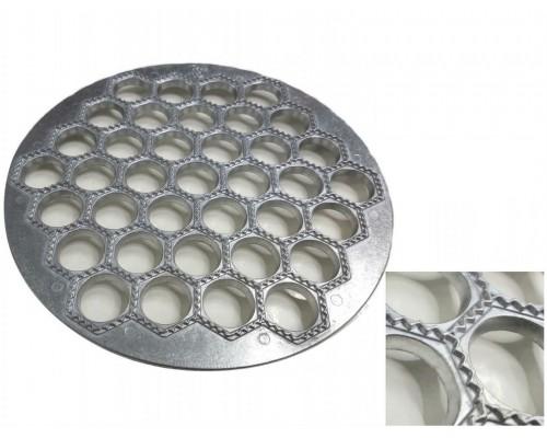 Пельменница алюминиевая круглая 37 отверстий 24 см Харьков PM