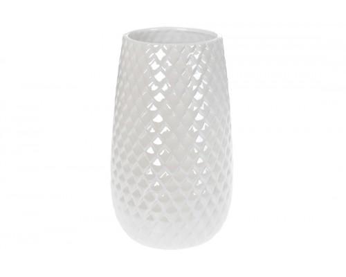 Ваза керамическая 24,5 см белый перламутр BonaDi 733-371 PM