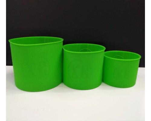 Набор силиконовых форм для Пасхи 3 шт Зеленый SNS