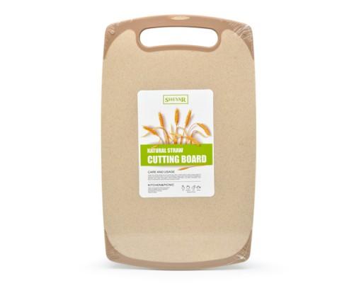 Разделочная доска из пшеничной шелухи Эко 24 х 40 см Sheyar R29039 PM