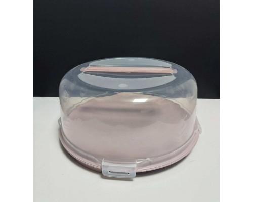 Тортовница с крышкой Алеана 34 х 15 см фрезия 169056