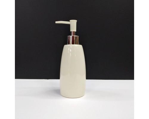Дозатор для жидкого мыла A-PLUS керамический бежевый 210 BS