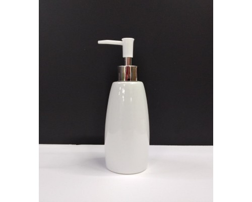 Дозатор для жидкого мыла A-PLUS керамический белый 210 BS
