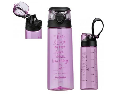 Бутылка для воды 700 мл Ardesto AR2206PR Розовая PM