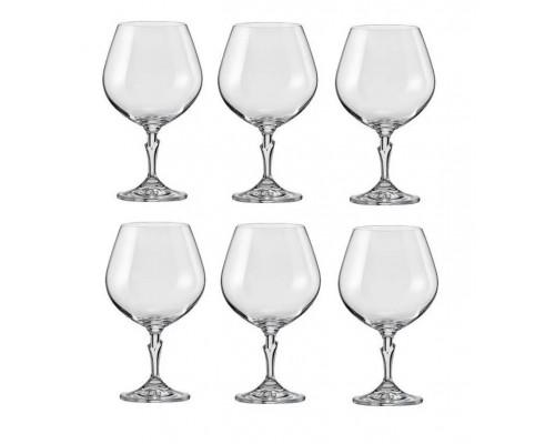 Набор бокалов Bohemia Lilly 400 мл для коньяка 6 шт (40768 400 BOH) PM