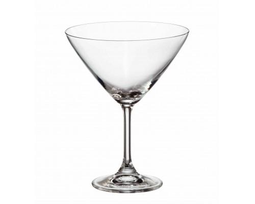 Набор бокалов Bohemia Sylvia (Klara) 280 мл для мартини 6 шт (4S415 280 BOH) PM