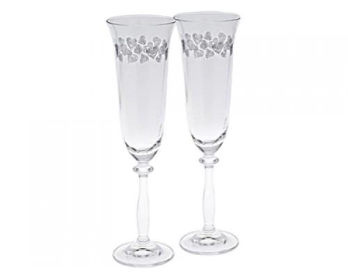 Набор бокалов Bohemia Angela 190 мл для шампанского 2 шт (40600-2 C5912 190 BOH)