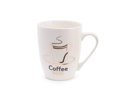 Кружка фарфоровая 350 мл Coffee Break BonaDi 380-404 PM