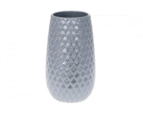 Ваза керамическая 20 см серый перламутр BonaDi 733-359