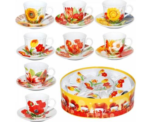 Сервиз чайный S&T 151-03 Цветы 12 предметов